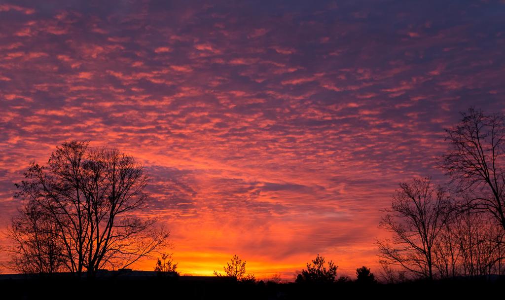 Christmas Day Sunset